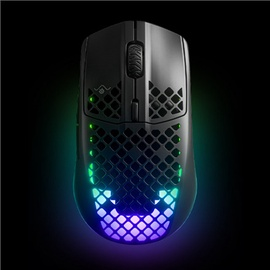 Spēļu pele Steelseries Aerox 3 bluetooth, melna