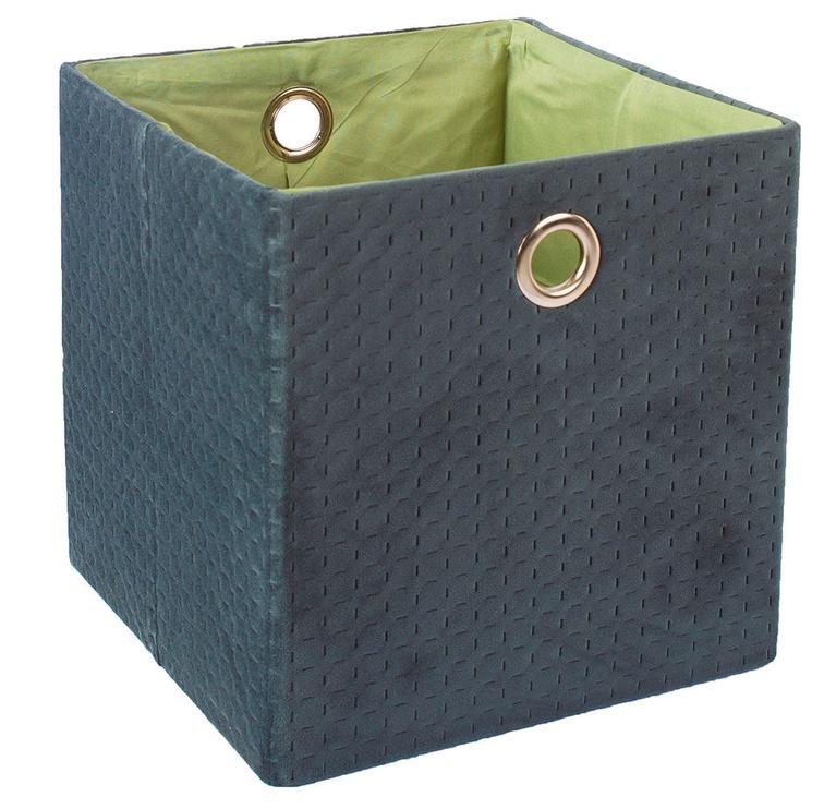 Home4you Yana Storage Box Dark Green