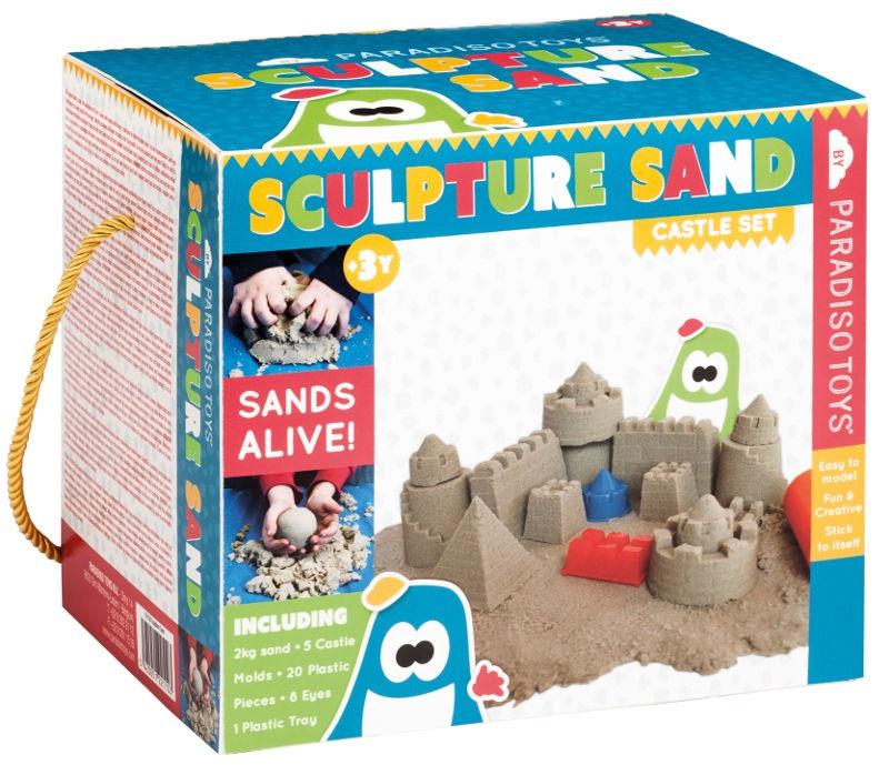 Paradiso Sculpture Sand Castle Set 2kg