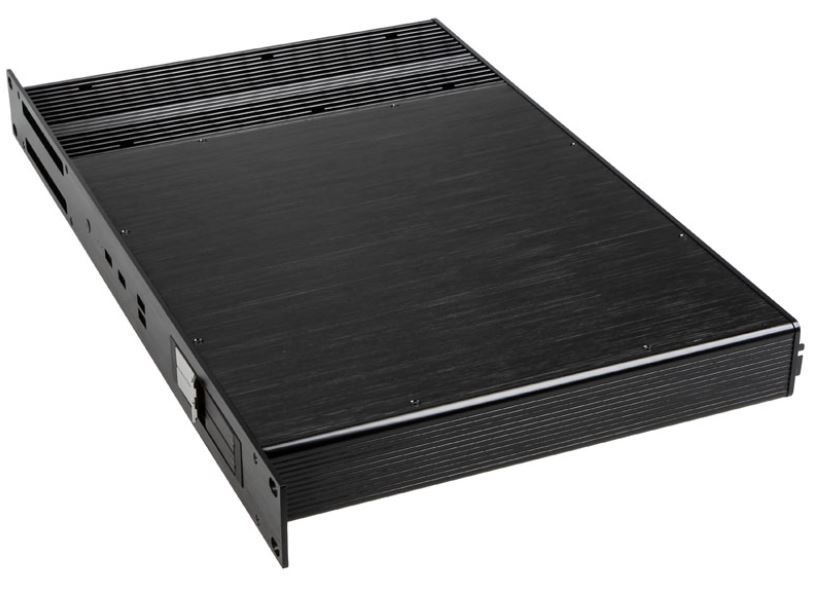 Akasa Fanless Thin Mini ITX Case Black