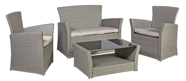 Home4you Alaska Garden Furniture Set Beige