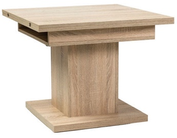 Signal Meble Table Larrest Scala Sonoma Oak 75x75cm