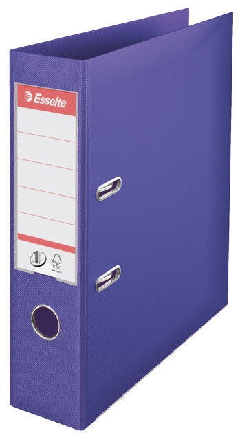 Esselte Folder No1 Power 7.5cm Purple
