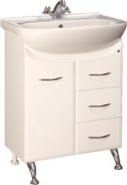 Шкаф для ванной MN Astor 13 610x800x316mm White