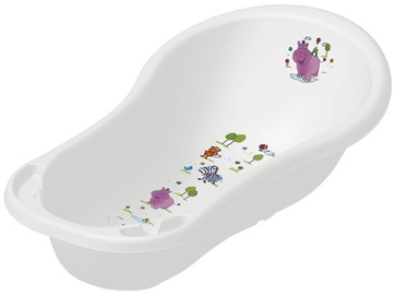 Keeeper Baby Bathtub XXL 100cm Hippo White