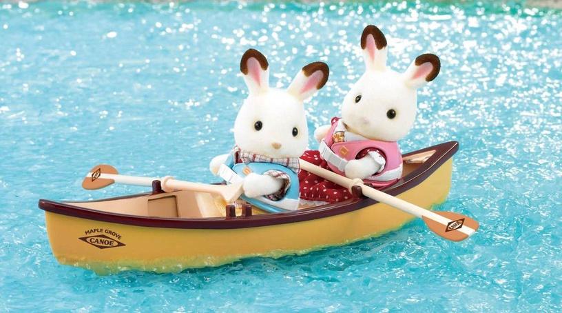 Žaislinė figūrėlė Epoch Sylvanian Families Canoe Set 2883