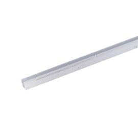 Aliumininis lovinis profiliuotis, 2000 x 8 x 8 mm