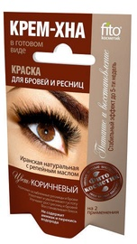 Fito Kosmetik Cream Henna Paint For Eyebrows And Eyelashes 4ml Brown