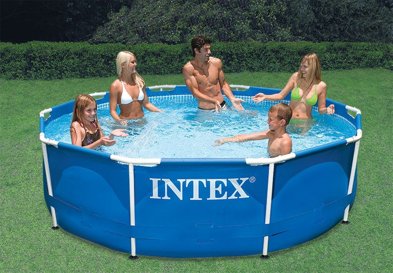 Baseins Intex Metal Frame Pool 28200