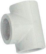 FPlast Plastic 3-Way Pipe Gray D16