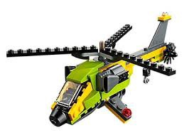 Конструктор LEGO Creator Helicopter Adventure 31092