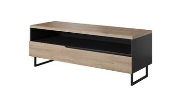 Idzczak Meble Luna 03 TV Table Black Matt/Grandson Oak