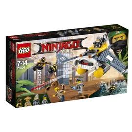 Конструктор LEGO Ninjago Manta Ray Bomber 70609 70609, 341 шт.