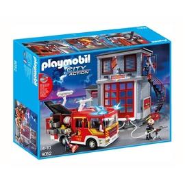 Konstruktorius Playmobil City Action, gaisrininkų kompleksas, 9052