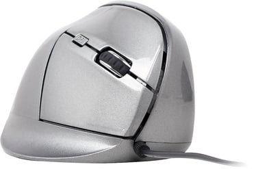 Kompiuterio pelė Gembird MUS-ERGO-02 Space Grey, laidinė, optinė