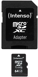 Intenso 64GB Micro SDXC Class 10 + Adapter