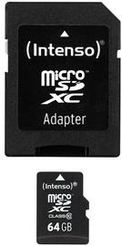 Intenso 64GB Micro SDXC Class 10 + Adapter
