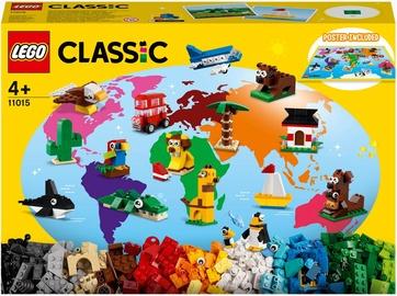 Конструктор LEGO Classic Вокруг света 11015, 950 шт.