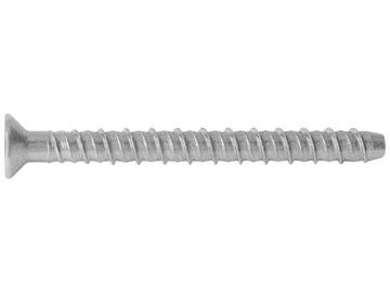 Betoonikruvi R-LX 6,3x75mm HEX ZF 100tk