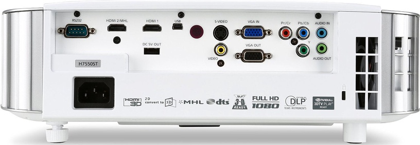Projektorius Acer H7550ST