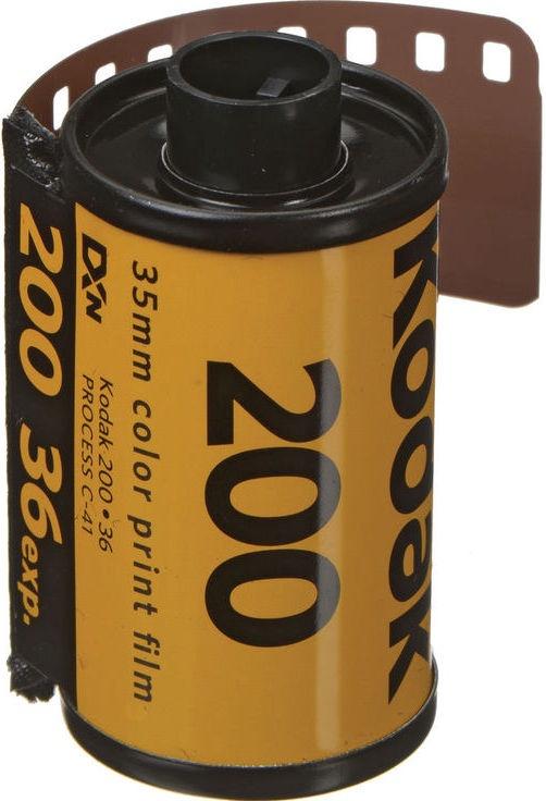 Kodak Gold 200 135 36 Color Negative Film