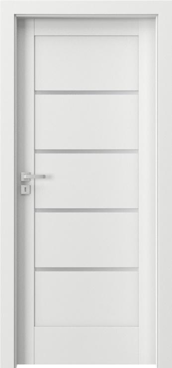 """Durų varčia """"Verte Home G4"""" balta 744x2030x40 dešininė"""