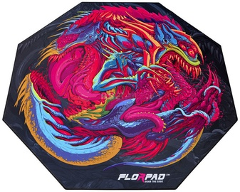 FlorPad Octagonal Floor Mat For Gamers HyperBeast Medium