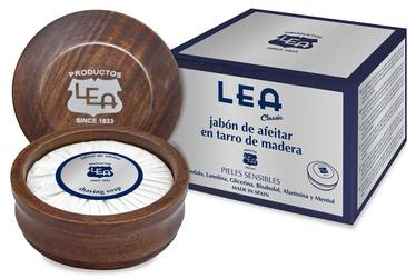 Ziepes Lea Classic Shaving Soap In Wooden Jar, 100 ml