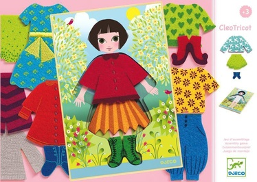 Djeco Wooden Dress Up Girl CleoTricot DJ01697