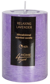 Home4you Candle Relaxing Lavender D6.8xH9.5cm