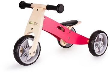 "Balansinis dviratis EcoToys, rožinis, 6.69"""
