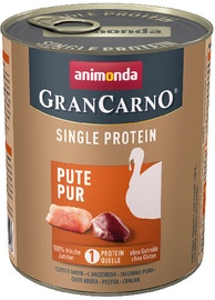Animonda GranCarno Single Protein Turkey 800gr