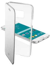 Cellular Line Clear Book Case For Samsung Galaxy S6 Silver