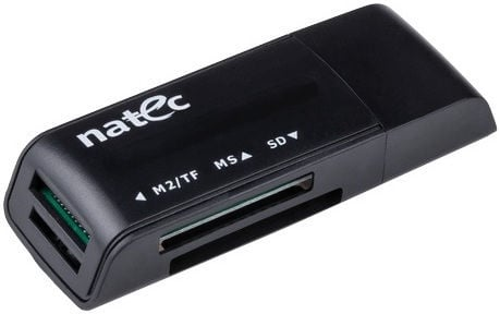 Natec ANT3 USB 2.0 Mini Card Reader Black