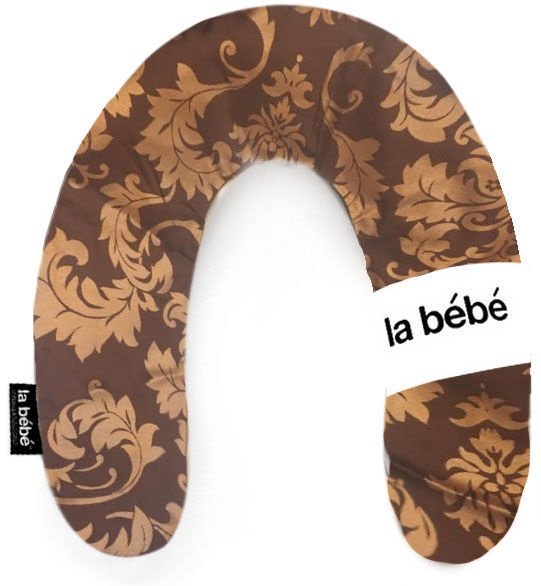 La Bebe Rich Satin Nursing Maternity Pillow 30x175cm Eastern Gold 85911