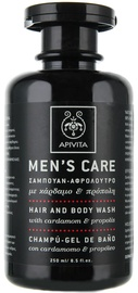 Apivita Mens Care Shampoo&Shower Gel 250ml