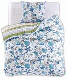 DecoKing Diamond Floral Bedding Set 135x200/80x80