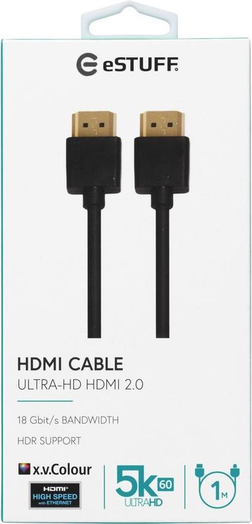 Laidas m/m hdmi2.0 uhd ES606011 1m Black