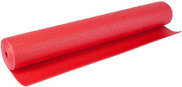 EB Fit Exercise Mat 170x60x0.3cm Red