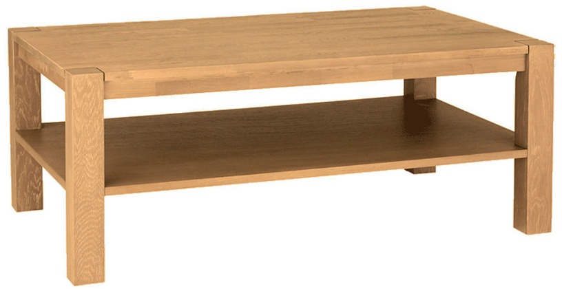 Kohvilaud Home4you Chicago New Oak, 1100x430x650 mm