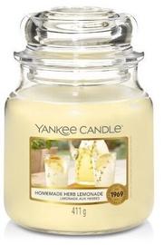 Свеча Yankee Candle Classic Medium Jar 411g Homemade Herb Lemonade, 75 час