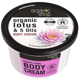 Organic Shop Body Cream Indian Lotus 250ml