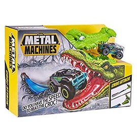 Žaislinė Trasa Metal Machines Police