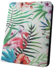 GreenGo Universal Tablet Book Case For 9-10'' Flamingo
