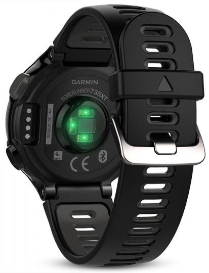 Garmin Forerunner 735XT Black/Gray Run Bundle