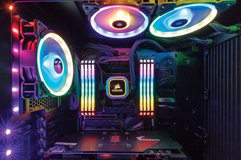 Corsair Vengeance RGB PRO Black 16GB 3200MHz CL14 DDR4 KIT OF 2 Series CMW16GX4M2C3200C14