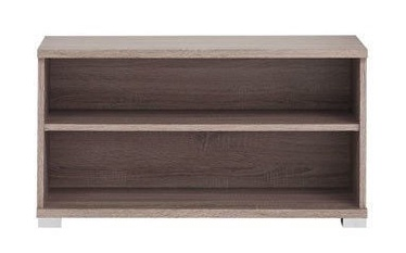 Batų spintelė Black Red White Homeline Dark Sonoma Oak, 840x330x450 mm