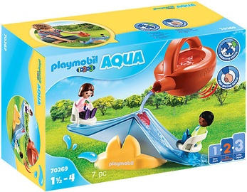 Playmobil Aqua 1-2-3 Water Seesaw With Watering Can 70269