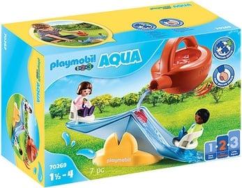 Konstruktorius Playmobil Aqua 1-2-3 Water Seesaw With Watering Can 70269
