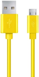 Esperanza Cable USB to USB-micro Yellow 2m